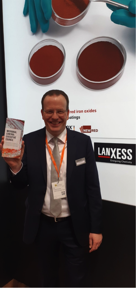 The MCEC attends the European Coatings Show 2019